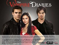 The Vampire Diaries - style B Fine Art Print