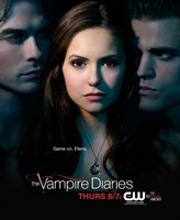 The Vampire Diaries - style G Framed Print