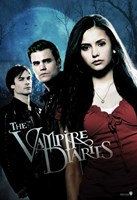 The Vampire Diaries - style F Framed Print