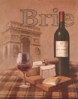 Brie - Arc de Triomphe Framed Print