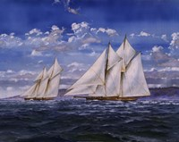 The Cream of the Cruisers Fine Art Print