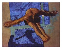 Olympic Diver Fine Art Print