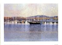 En Rade De Toulon Fine Art Print