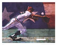 Olympic Baseball Fine Art Print
