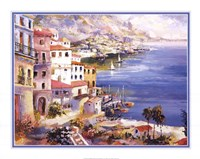 Harbor View Framed Print