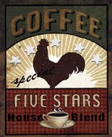 Coffee Blend Label III Fine Art Print