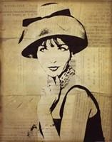 Fashion News I Fine Art Print