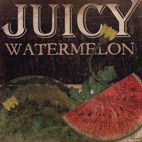 Juicy Watermelon Fine Art Print