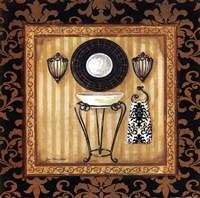Black Veranda Bath II Fine Art Print