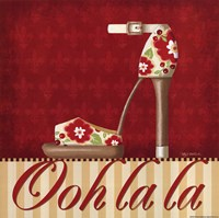 Ooh La La Shoe II Framed Print