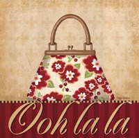 Ooh La La Purse I Fine Art Print