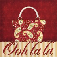 Ooh La La Purse II Fine Art Print