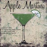 Apple Martini Framed Print