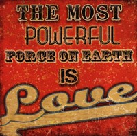 Love - Retro Fine Art Print