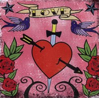 Love - Tattoo Fine Art Print