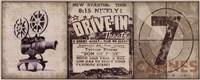 Drive-In Fine Art Print