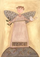 Peace Angel Fine Art Print