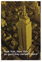 New York (City.Quote) Wall Poster