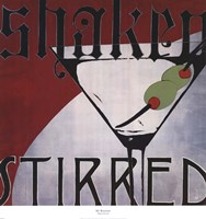 Shaken Stirred Fine Art Print