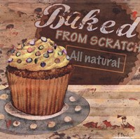 Baking Sign II Fine Art Print