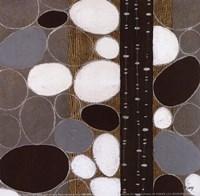 Stones Throw II - petite Framed Print