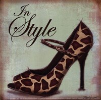 Exotic Shoe II - petite Framed Print