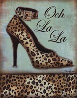 Leopard Shoe - mini Fine Art Print