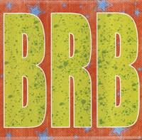 BRB Framed Print