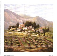 Village At Vaucluse Fine Art Print