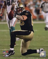 Jeremy Shockey 2009 Action Fine Art Print