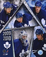 2009-10 Toronto Maple Leafs Team Composite Fine Art Print