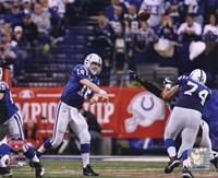Peyton Manning 2009 AFC Championship Game Action Fine Art Print