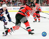 Patrik Elias 2009-10 Action Fine Art Print