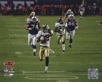 Tracy Porter Super Bowl XLIV Interception & Touchdown Return (#6) Fine Art Print
