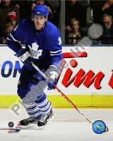 Dion Phaneuf 2009-10 Action Fine Art Print