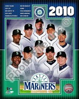 2010 Seattle Mariners Team Composite Fine Art Print