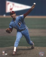 Steve Carlton 1983 Action Fine Art Print