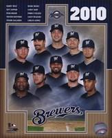 2010 Milwaukee Brewers Team Composite Fine Art Print