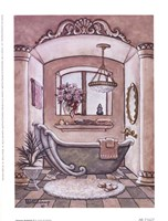 Vintage Bathtub ll Framed Print