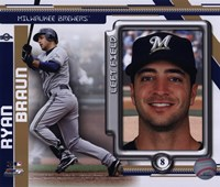 Ryan Braun 2010 Studio Plus Fine Art Print
