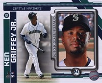 Ken Griffey Jr. 2010 Studio Plus Fine Art Print