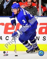 Dion Phaneuf 2009-10 Action In Play Fine Art Print
