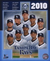 2010 Tampa Bay Rays Team Composite Fine Art Print