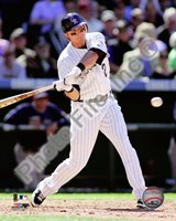 Troy Tulowitzki 2010 Action Fine Art Print