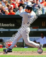 Adam Lind 2010 Action Fine Art Print
