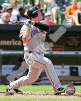 Travis Snider 2010 Action Fine Art Print