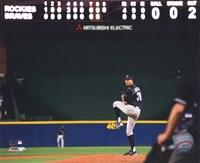 Ubaldo Jimenez 2010 baseball Framed Print