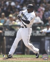 Ken Griffey Jr. 2010 Action Fine Art Print