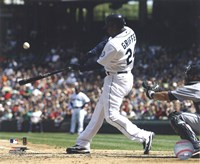 Ken Griffey Jr. 2010 Action Framed Print