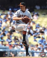 Barry Zito 2010 Action Fine Art Print